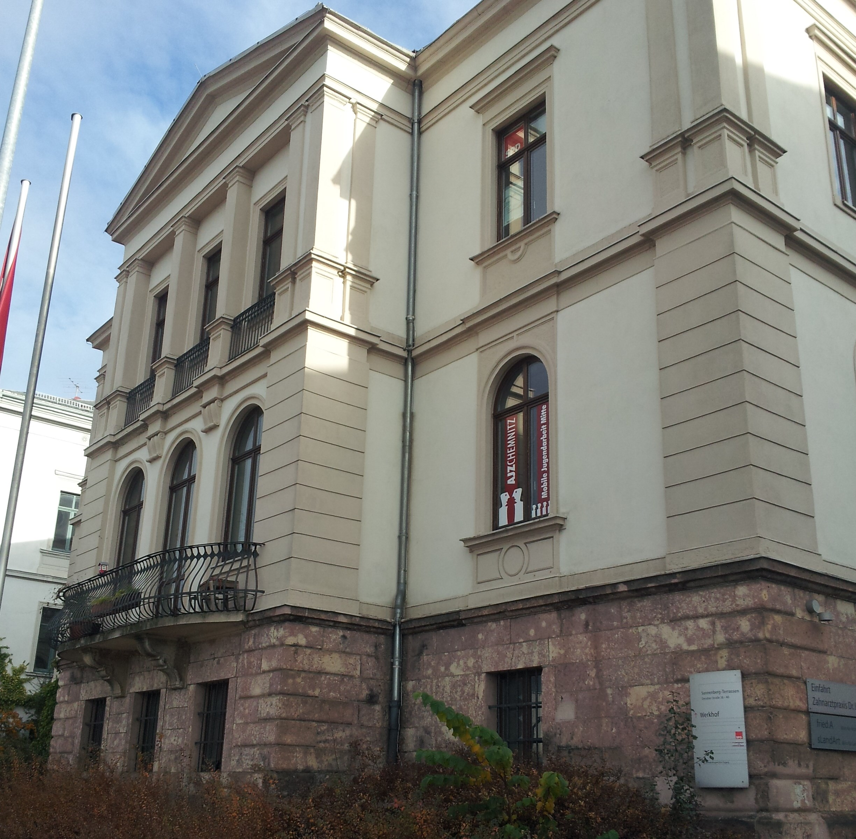 Gebäude der mobilen Jugendarbeit Chemnitz Mitte