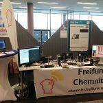 Freifunk Chemnitz Stand auf der Maker Faire 2019