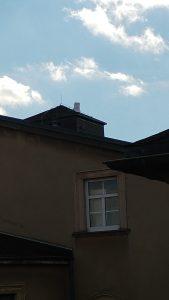 Dachinstallation auf der ibug